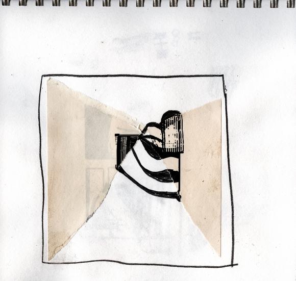 rosaire_sketchbook collage